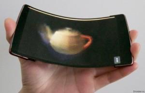 Смартфон HoloFlex – уникальное изобретение, имеющее голографический экран