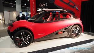 На автомобильной выставке продемонстрировали электромобиль, напечатанный на 3D-принтере