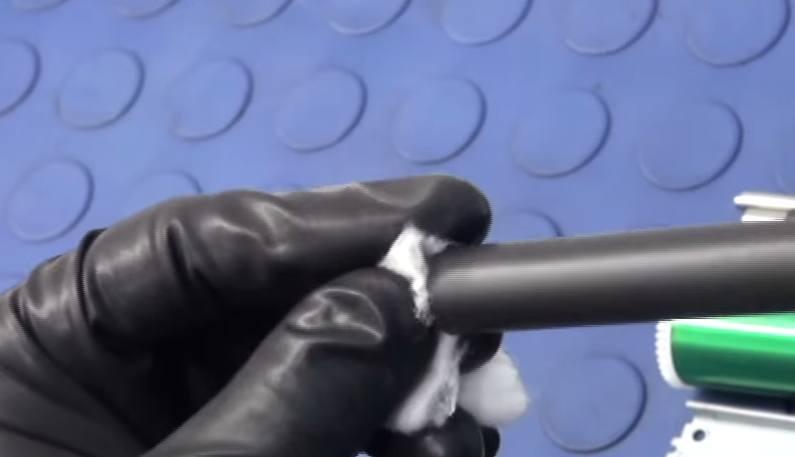 Чистим спиртом контакты и магнитный вал