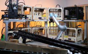 Робот-рука для работы с 3D принтерами