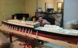 Точную копию «Титаника» воссоздали с помощью 3D-принтера