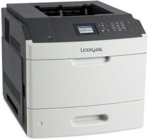 Драйвер для Lexmark MS817