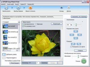 Epson Easy Photo Print — ценитель качества в фотографиях